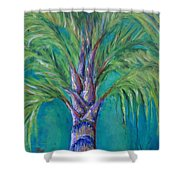 Queen Palm Shower Curtain