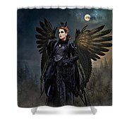 Queen Raven Shower Curtain