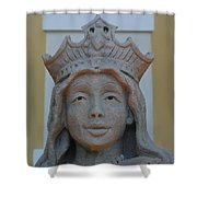 Queen Sandy Shower Curtain
