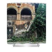 Queen Via Appia Shower Curtain