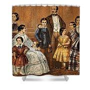 Queen Victoria, Prince Albert Shower Curtain
