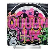 Queens Cat Mural Shower Curtain
