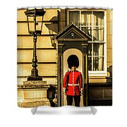 Queens Guards. Shower Curtain