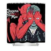 Queens Of The Stone Age Shower Curtain