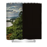 Queen's View Shower Curtain