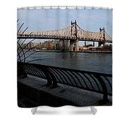 Queensboro Bridge, Nyc Shower Curtain