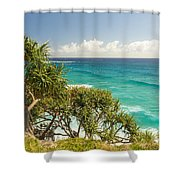 Queensland Coastline Shower Curtain