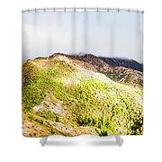 Queenstown Tasmania Wide Mountain Landscape Shower Curtain