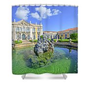 Queluz National Palace Sintra Shower Curtain