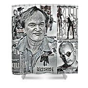 Quentin Tarantino  Shower Curtain