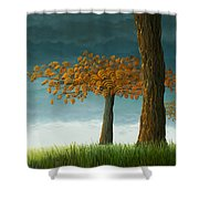 Quercus Corymbion Shower Curtain