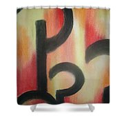 Questions Have Answers Shower Curtain