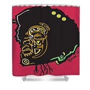 Questlove  Shower Curtain by Kamoni Khem