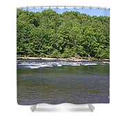 Quick River Shower Curtain