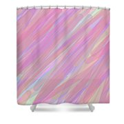 Quick Strokes Shower Curtain
