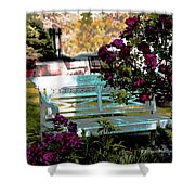 Quiet And At Peace Shower Curtain