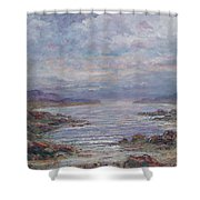Quiet Bay. Shower Curtain