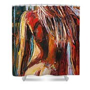 Quiet Breeze Shower Curtain