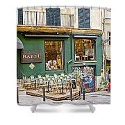 Quiet Cafes In Palma Majorca Spain   Shower Curtain
