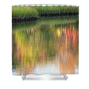Quiet Inspiration Shower Curtain