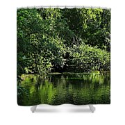 Quiet Moments Shower Curtain
