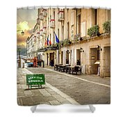 Quiet Morning In Venezia Shower Curtain