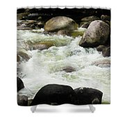 Quiet - Mossman Gorge, Far North Queensland, Australia Shower Curtain