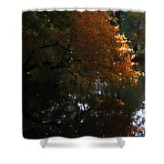 Quiet On The Lake Shower Curtain