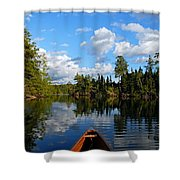 Quiet Paddle Shower Curtain