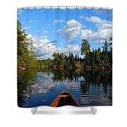 Quiet Paddle Shower Curtain