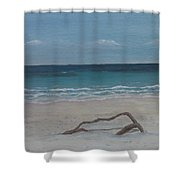 #20 Quiet Perspective Shower Curtain