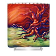 Quiet Place Shower Curtain