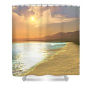 Quiet Places Shower Curtain