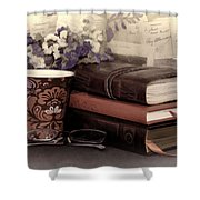 Quiet Reading Time Shower Curtain