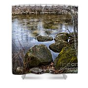 Quiet Reverie Shower Curtain