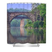 Quiet River Shower Curtain