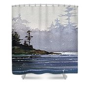 Quiet Shore Shower Curtain