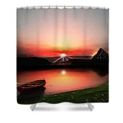 Quiet Still Shower Curtain
