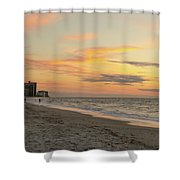 Quiet Time At The Beach Shower Curtain