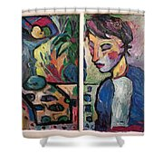 Quiet Time Carter Shower Curtain