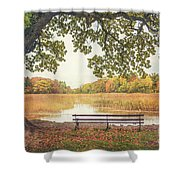 Quiet Time Shower Curtain