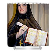 Quill And Cross Shower Curtain