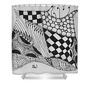 Quilt Makers Shower Curtain