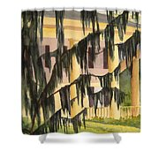 Quinby Plantation Shower Curtain