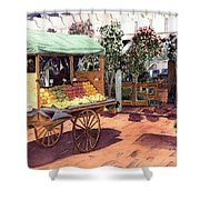 Quincy Market I Shower Curtain
