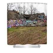 Quincy Quarries 2 Shower Curtain