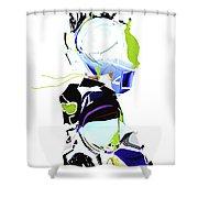 An Shower Curtain