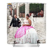 Quinze Anos In San Miguel Shower Curtain