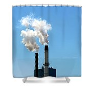 Quit Shower Curtain by Stephen Mitchell