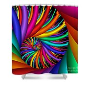 Quite Different Colors -16- Shower Curtain